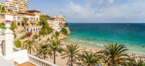 bay-with-a-beach-and-hotels-in-mallorca-panorama-of-the-bay-to-the-beach-palm-trees-and-hotels-in-mallorca-image-id-235694992-1422265383-sx99